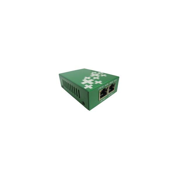 1 Port PoE Extender 15,4W. 10/100Mbps