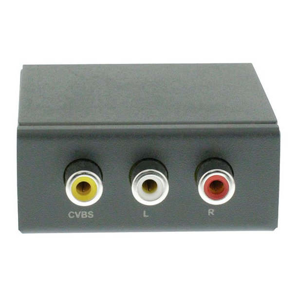 CVBS Composite til HDMI Konverter