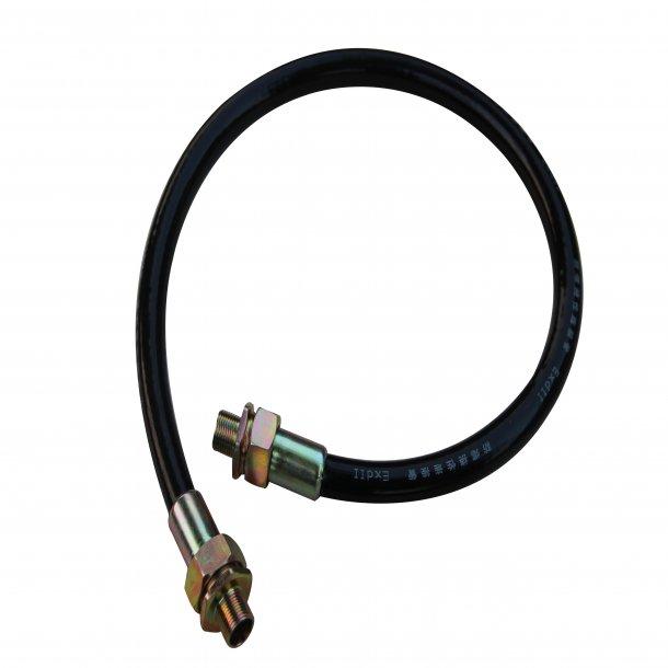 Installations kabel 20*1.5mm interface, Kaliber 15mm, Lænde 1000mm til eksplosions proof kamera huse, Rustfri Stål 304