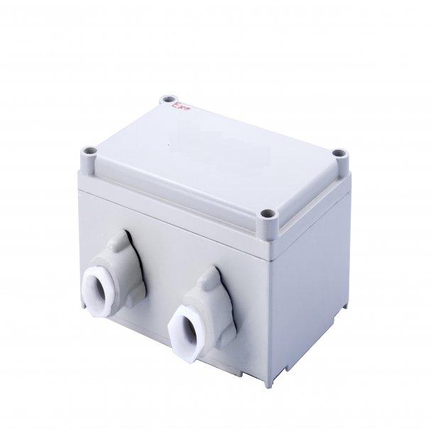 Explosion Proof, Anti-Corrosion, Waterproof Control Box, 190x125x60mm / 200x200x100mm, 4x G3/4 Interface, Aluminum