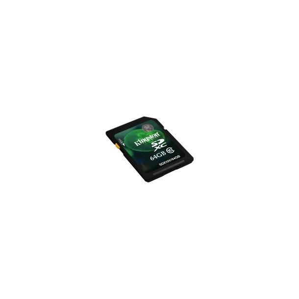SDXC Card 64 GB Cl. 10