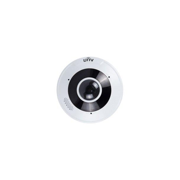 12 MP Udendørs VDS Fiskeøje Kamera 360°, IP66 IK10 (-40c), 1.8mm, Smart IR 10m, WDR, 3DNR, ROI, 15fps 4000x3000.