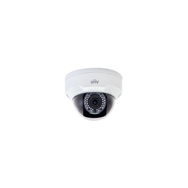 2 MP Udendørs VDS Mini Dome IP67 IK10 (-35c), 2.8mm, Smart IR 30m, 120dB WDR, 3DNR, ROI, 3x Stream, 30fps 1920x1080, Korridor Mode.