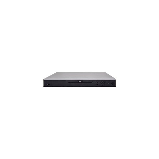 NVR 32 Channel, 16x PoE, 4x HDD Max 32TB, HDMI/VGA Video Out, Max 12MP/4K Decoding, In/Out Brandwith 320/320Mbps, 2x USB, 1x RS485, VCA, Without Hard Disk.