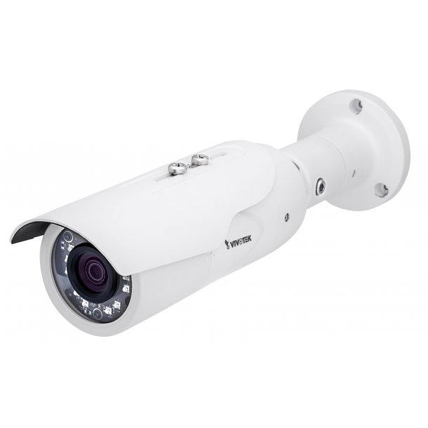4 MP Udendørs Bullet D/N IP66 (-20c) IK10, 2.8-12mm, WDR Pro, 3DNR, BLC, Smart IR 30m, Smart Stream II, 3 Streams, Korridor Visning, VCA, 30fps 2688x1540