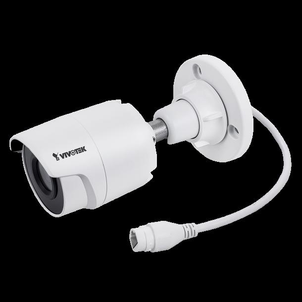 5 MP Udendørs Mini Bullet IP66, IK10 (-30c), 3.6mm, SNV, WDR Pro, Smart IR 30m, Smart stream, VivoCloud, 3 Streams 30fps 2560x1920, SD-kort.