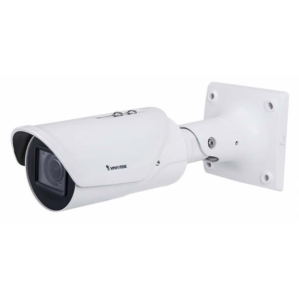 5 MP Udendørs (-50c) IP66 IK10 Bullet, 2,7-13,5mm Remote Focus, H.265, WDR Pro, SNVII, Smart IR 50m, DIS, Smart stream III, 3 streams, VCA, Korridor View, 30fps 2560x1920, 60fps 1920x1080.