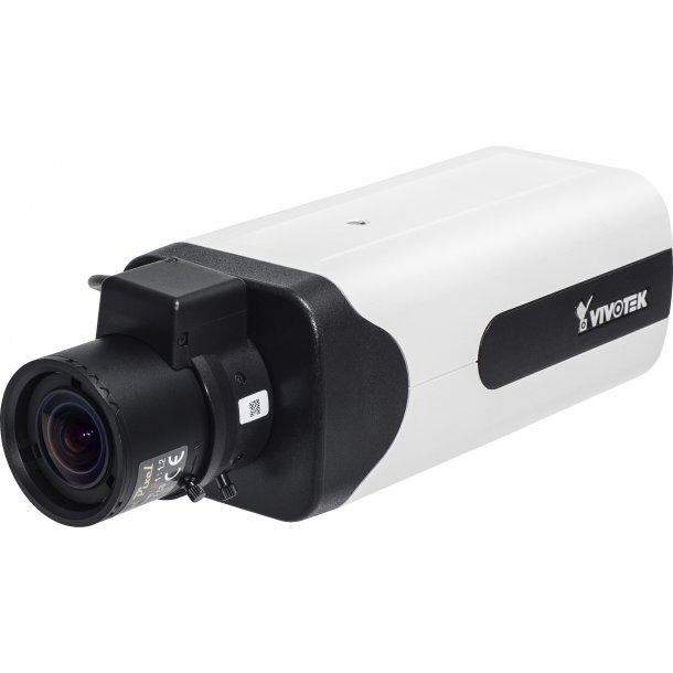2 MP D/N Box (-10c), 4-18mm, WDR Pro, SNV, P-Iris, 3DNR, 60fps, Remote Back Fokus, EIS, Snapshot fokus, Corridor View, BNC Video Out.