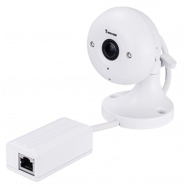 2 MP Indendørs Ultra Mini D/N Cube (0c), 2.8mm, WDR, Smart IR 8m, BLC, 3DNR, AEC, 3 streams, Video Rotation, Fuld HD 30fps 1920x1080p