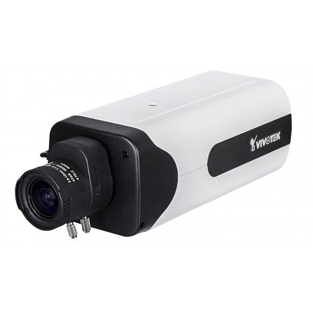 2 MP Indendørs D/N Box (-10c), 2.8-12mm, WDR, SNV, 3DNR, Smart Stream II, VCA, Defog, 4x Streams, Korridor Visning, 30fps 1920x1080p
