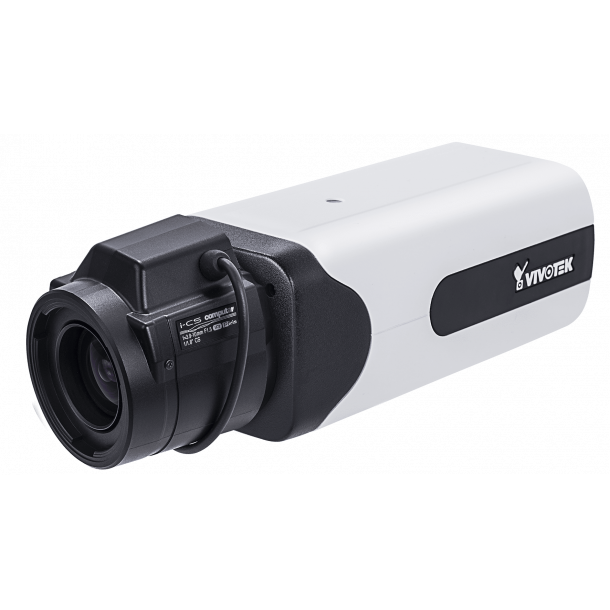 8 MP Indendørs D/N Box (-10c), Remote Back Fokus 3.9-10mm, WDR Pro, i-CS/DC/P-Iris, SNV, 3DNR, DIS, Smart Stream III, VCA, DIS, GbE Port, 3x Streams, Korridor Visning, 30fps 3840x2160, 120fps 1080p