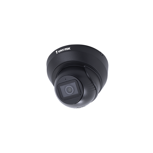 5 MP Udendørs IP66 Flat-Faced Dome (-20c), 3.6mm, Smart IR 30m, SNV, WDR Pro, BLC, 3DNR, Defog, Smart Stream III, 3x Stream, Smart Motion Detection, 30fps 2560x1920, Mic. Sort