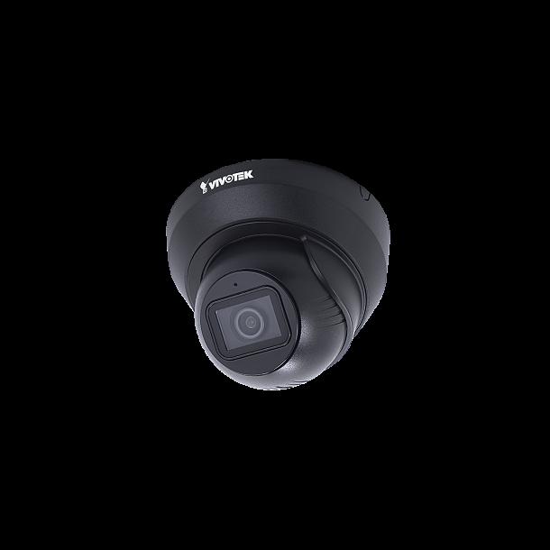5 MP Udendørs IP66 Flat-Faced Dome (-20c), 3.7-7.7mm, Smart IR 30m, SNV, WDR Pro, BLC, 3DNR, Defog, Smart Stream III, 3x Stream, Smart Motion Detection, 30fps 2560x1920, Mic., Sort
