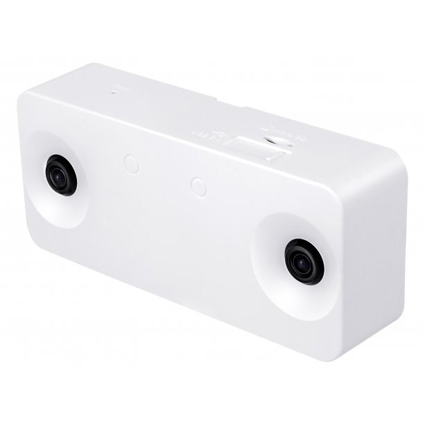 2 MP Indoor (-10c) Stereo Camera, People Counting, 3D Depth Technology, 3.7mm, 3 streams, VCA, 15fps 2560x960