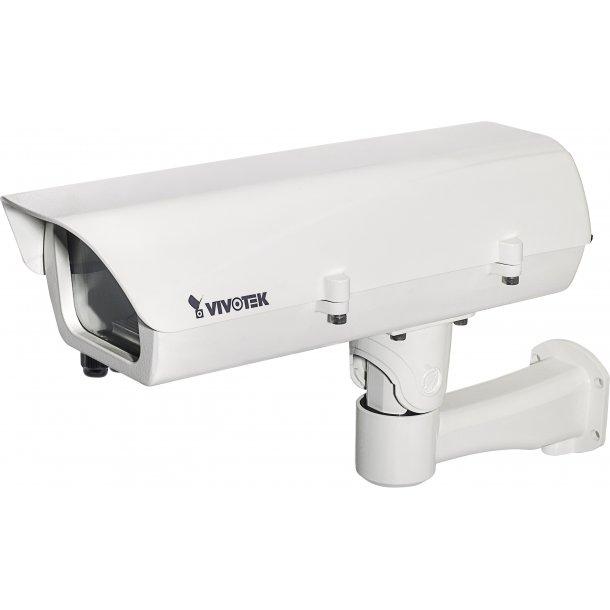 Kamera Hus (-20c) m/Fiber 24VAC input, IP66, IK10, Med Blæser og Defog. (V01)