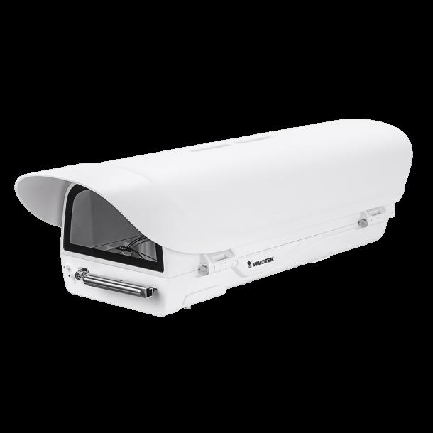 Kamera Hus (-20c) Med visker, IP66, IK10, Med Blæser og Heater. 24V AC / 28V DC