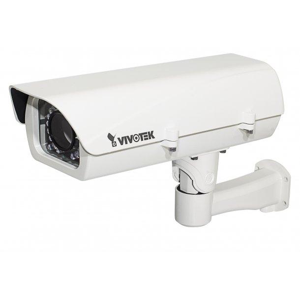 Kamera Hus (-40c) med IR 50m UPoE input 60W, IP66, IK10, Med Blæser og Heater. (V01)