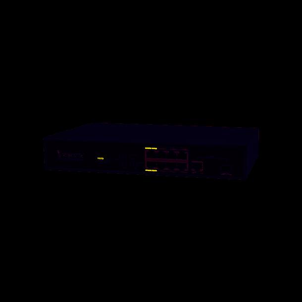 Vivotek 8 Port PoE Switch, 8x FE PoE, 1xGE UTP 1xGE SFP Switch, 120W.