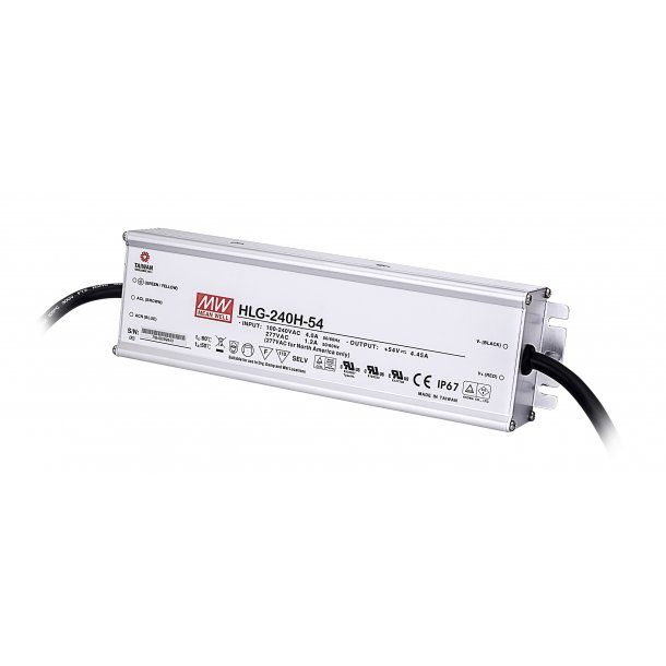 240W enkelt udgang Switching Power Supply