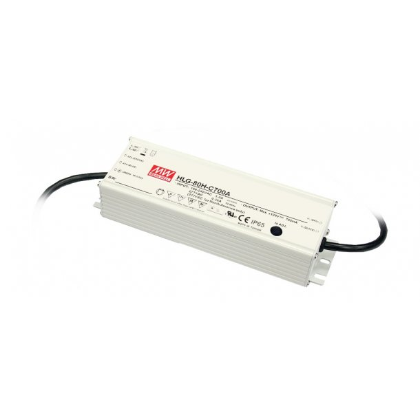 80W enkelt udgang Switching Power Supply
