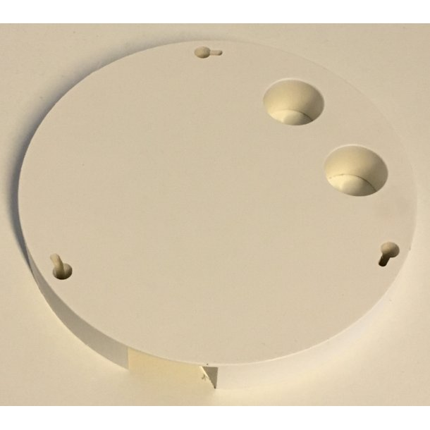 Vivotek Adaptor Mounting Bracket for Dome Camera, Ø155mm x 20mm.